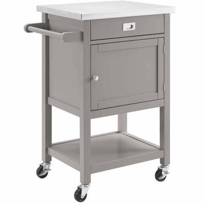 Sydney Stainless Steel Top Kitchen Cart