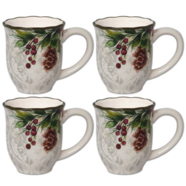 jcpenney.com | JCP Home 4-pc. Coffee Mug