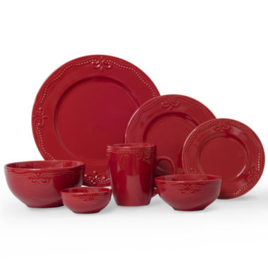 jcpenney.com | JCP Home Scroll 56-pc Dinnerware Set