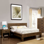 Henderson 2-Pc Bed & Nightstand Set