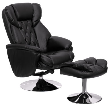 jcpenney.com | Leather Pad-Arm Recliner
