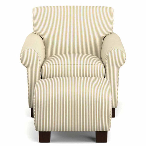 Wendy Chair and Ottoman