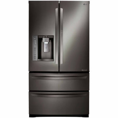 jcpenney.com | LG 26.5 cu. ft. Ultra-Large Capacity Four-Door Refrigerator with Door-in-Door