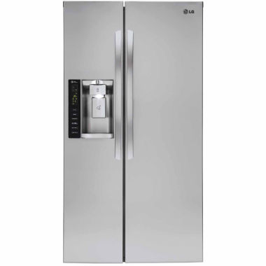 jcpenney.com | LG 21.9 cu ft. Ultra Large Capacity Side-By-Side Refrigerator