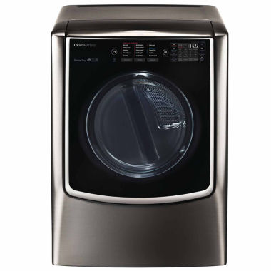 jcpenney.com | LG 9.0 cu. ft. Gas Dryer with Turbo Steam