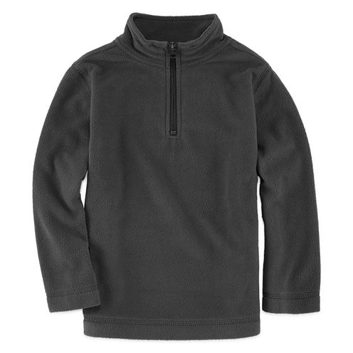 Okie Dokie® Long-Sleeve Comfy Fleece Pullover - Toddler Boys 2t-5t
