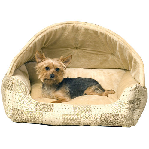 "K & H Manufacturing Lounge Sleeper Hooded Pet Bed 20"" x 25"""