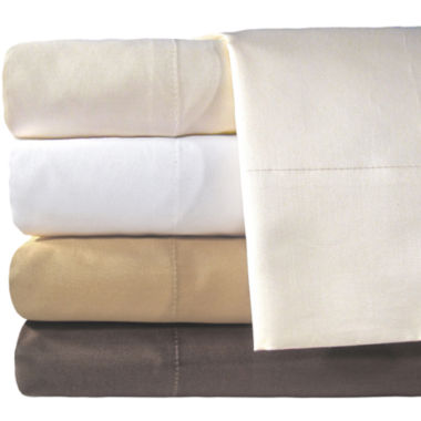 jcpenney.com | American Heritage 800tc Set of 2 Cotton Sateen Solid Pillowcases