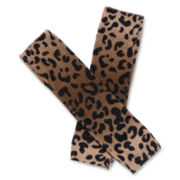 Animal Print Fingerless Gloves