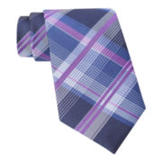 Claiborne® Multi-Framed Plaid Tie