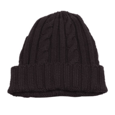 jcpenney.com | MUK LUKS® Men's Knit Cable Cuff Hat