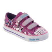 Skechers® Twinkle Toes Glitz and Glam Girls Sneakers - Little Kids
