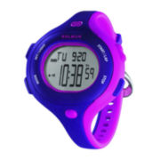 Soleus Chicked Womens Purple/Pink Silicone Strap Sport Watch