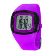 Soleus Rhythm Womens Heart Rate Monitor Pink Silicone Strap Sport Watch