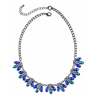 jcpenney.com | Mixit™ Blue & Green Bead Collar Necklace