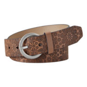Relic® Snowflake-Embossed Belt