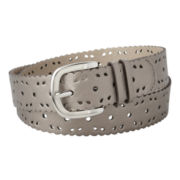 Relic® Pewter Scalloped-Edge Perforated Belt
