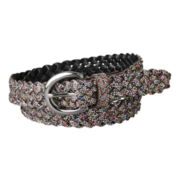 Relic® Multi Glitter Braided Belt