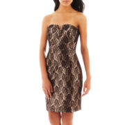 Bisou Bisou® Strapless Sequin Mini Dress