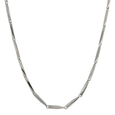 "jcpenney.com | Mens Stainless Steel 22"" 2mm Link Chain"