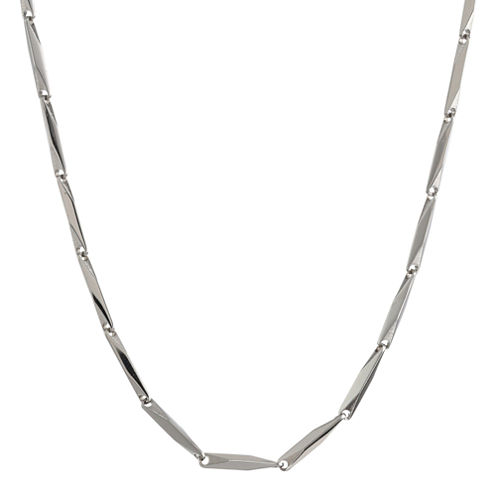 """Mens Stainless Steel 22"""" 2mm Link Chain"""
