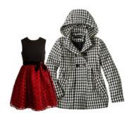 Bonnie Jean Dress or Rothschild Houndstooth Jacket