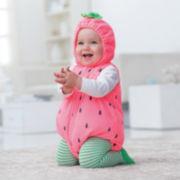 Carter's® 3-pc. Strawberry Halloween Costume – Girls 3m-24m