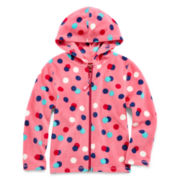 Arizona Microfleece Full-Zip Hoodie - Girls 2t-6