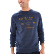 Levi's® Melfi Long-Sleeve Fleece Crewneck Shirt