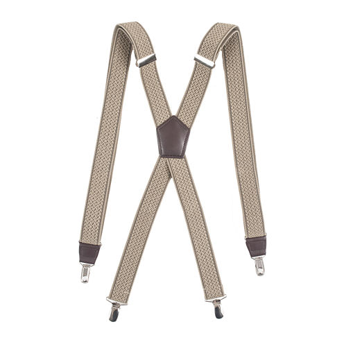 """Dockers® 1¼"""" Textured Suspenders"""