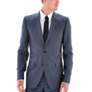 JF J. Ferrar® Grey Luster Suit Jacket - Slim