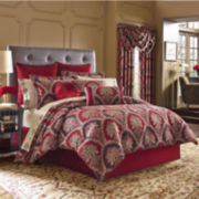 Queen Street® Sahara 4-pc. Chenille Comforter & Accessories