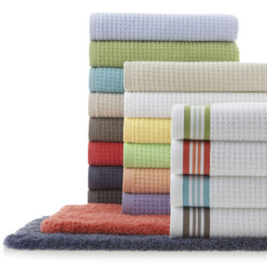 jcpenney.com | JCPenney Home™ Quick-Dri™ Bath Towel & Rug Collection