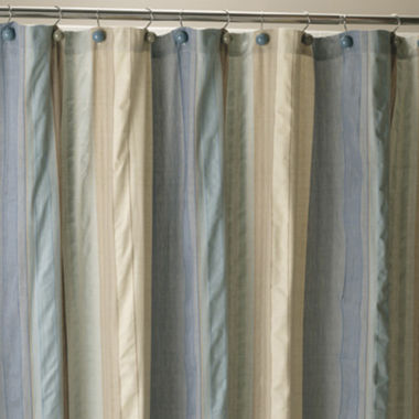 jcpenney.com | Seersucker Stripe Shower Curtain