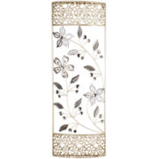 Daisy Motif Metal Wall Decor