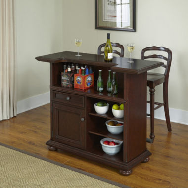 jcpenney.com | Roanoke Village Bar and Barstool Collection