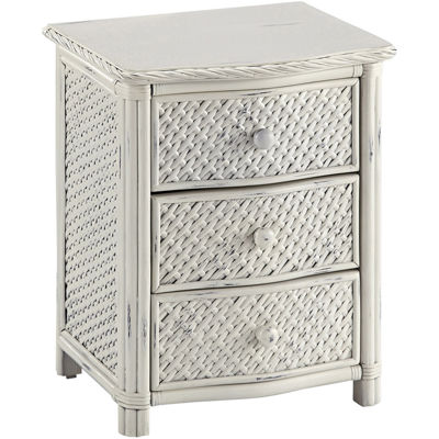 Lucia Wicker Nightstand