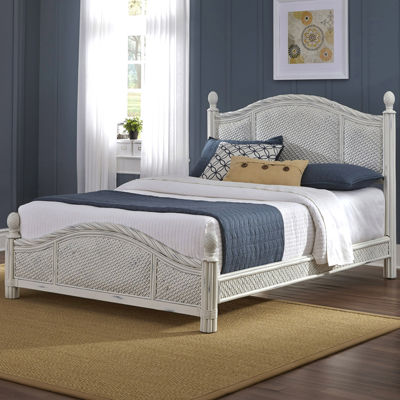 Lucia Wicker Bed
