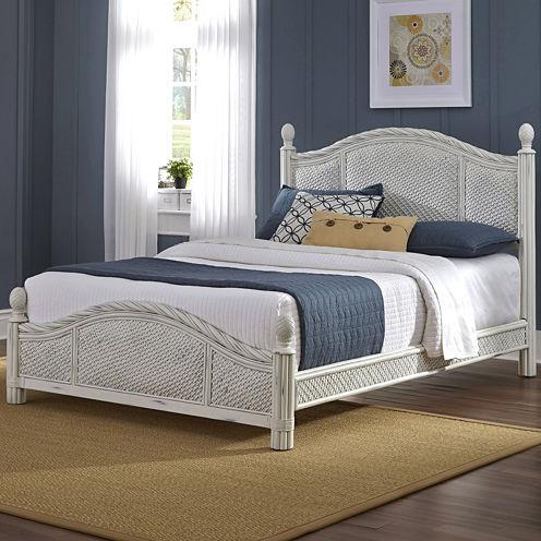 Lucia Wicker Bed