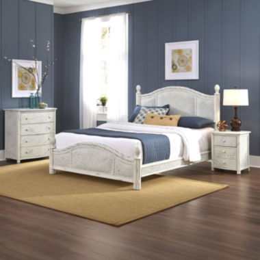 jcpenney.com | Lucia Wicker Bed, Nightstand and Chest