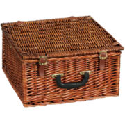 Household Essentials® Willow Picnic Basket - Service for 2