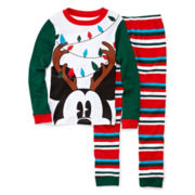 Disney Collection 2-pc. Mickey Mouse Pajama Set – Boys 2-10