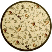 Wonderfruit Washable Round Rug