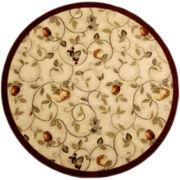 Wonderfruit Washable Round Rugs