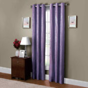 Victoria Classics Jericho Grommet-Top Curtain Panel