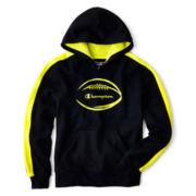 Champion® Fleece Football Graphic Hoodie – Boys 8-20