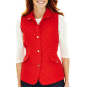 St. John's Bay® Quilted Vest