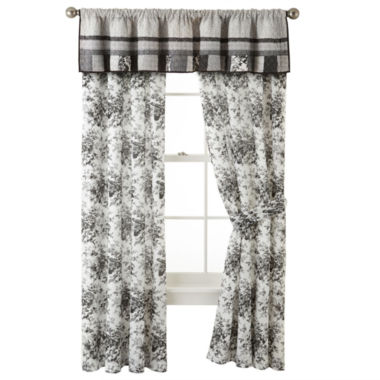 jcpenney.com | Home Expressions™ Rosetti Floral 2-Pack Curtain Panels