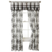 Home Expressions™ Rosetti Floral Curtain Panel Pair