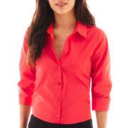 Worthington® Essential 3/4-Sleeve Shirt